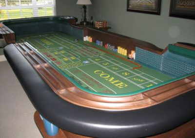 12' Breakdown Craps Table - Charlie and Sandy Holland