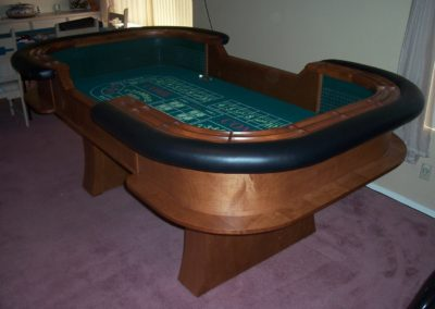 8' Craps Table
