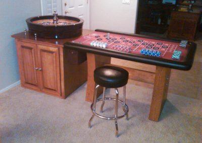 Custom Roulette Table - Ray and Arlene Swinney
