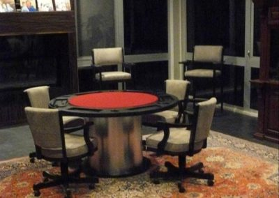 Poker Table and Matching Viper Pool Table