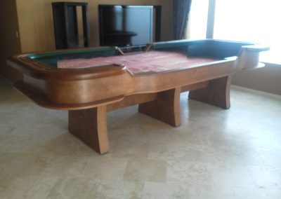 12' Custom Craps Table - Kevin Terrel