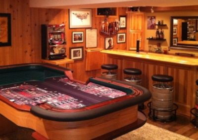 8' Custom Craps Table - Tony Qualantone 2