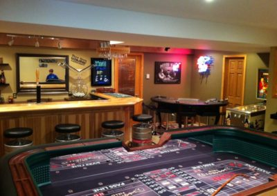 8' Custom Craps Table - Tony Qualantone