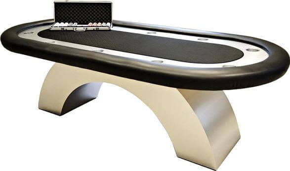 Arch Style Poker Table
