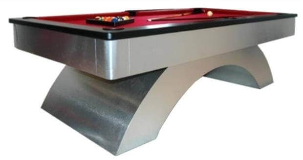 Arch Style Pool Table