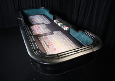Breakdown Craps Table - Steve Findley (Casino Party Creations)