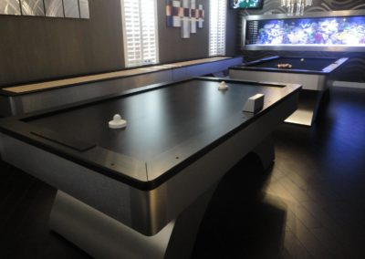 Custom Arch Style Game Room - Tim Hargis