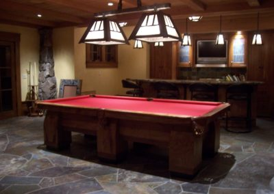 Custom Hearst Pool Table