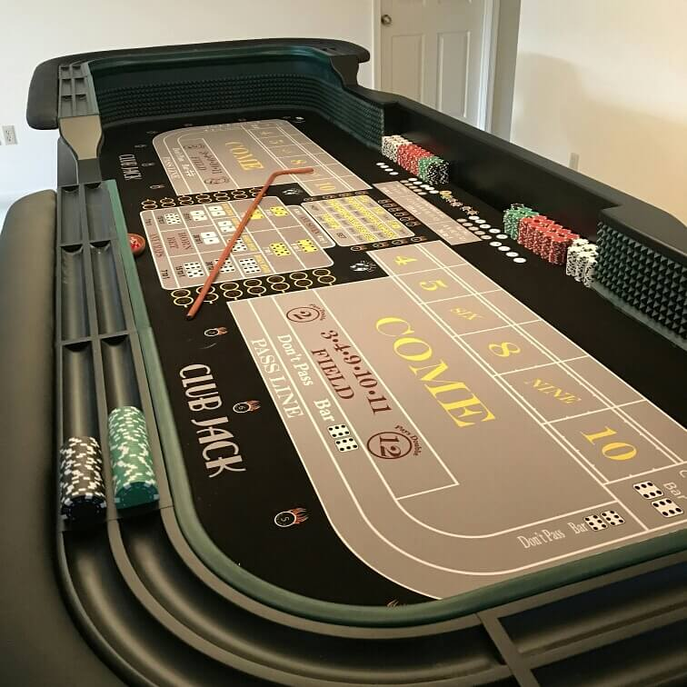 12 Casino Style Craps Table Custom Manufacture Of Table