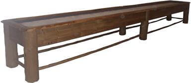 Lodge Pole Shuffleboard Table – 12′