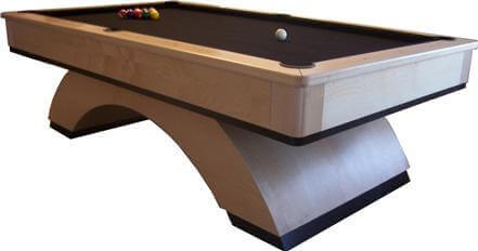 Trim Arch Style Pool Table