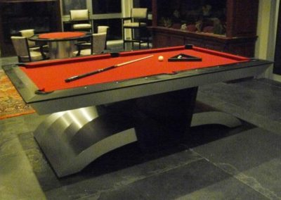 Viper Pool Table and Matching Poker Table