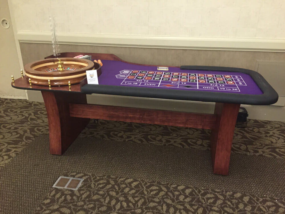 8 Casino Style Roulette Table Custom Manufacture of Table Games