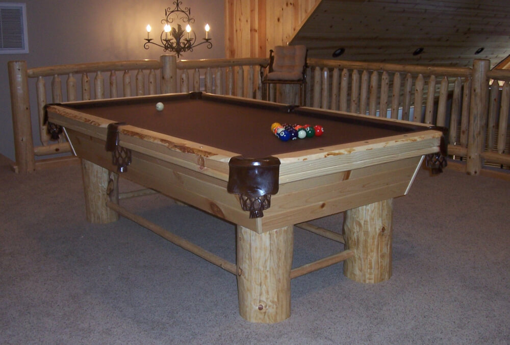 seven-foot-lodge-pole-pool-table
