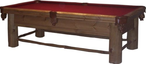 Lodge Pole Pool Table