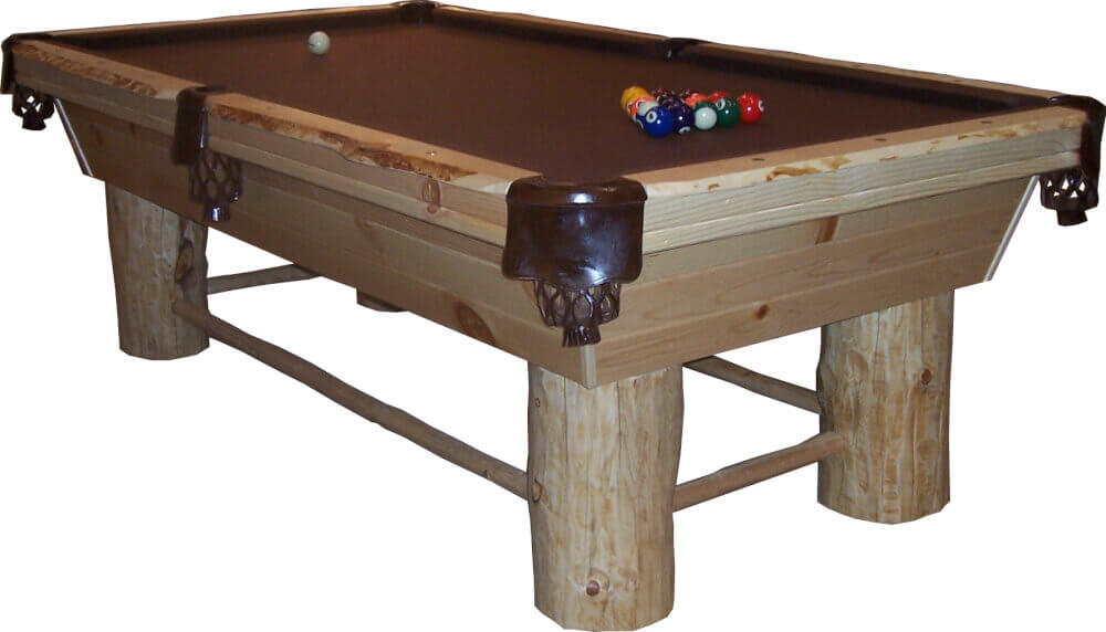 Pine Pool Table