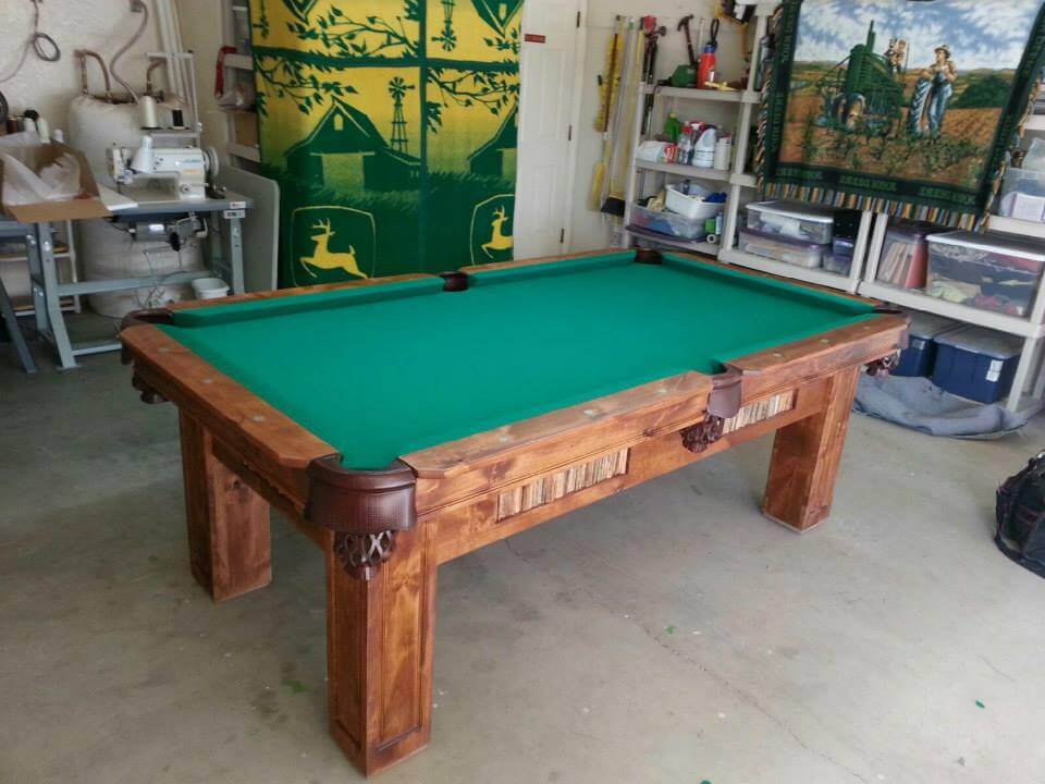 Six Foot Saguaro Log Pool Table Custom Manufacture Of Table Games - Six foot pool table