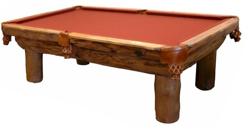 Six Foot Aspen Pool Table