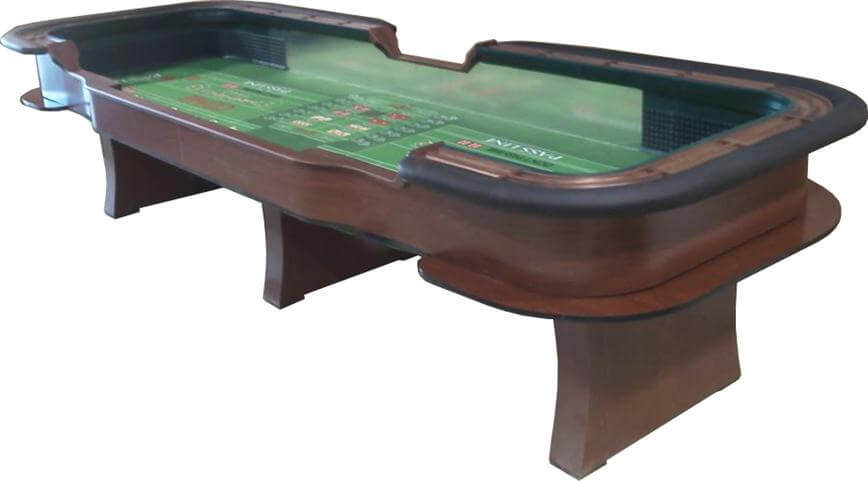 Fantastic Craps Table Sizes Custom Manufacture Of Table Games Beutiful Home Inspiration Ommitmahrainfo