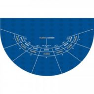 Casino Mini Baccarat Layout Blue