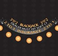Casino Blackjack Layout Black Dealer must Hit Soft 17