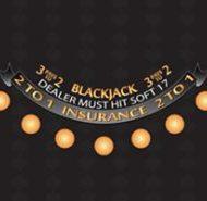 Casino Blackjack Layout Black Dealer must Hit Soft 17